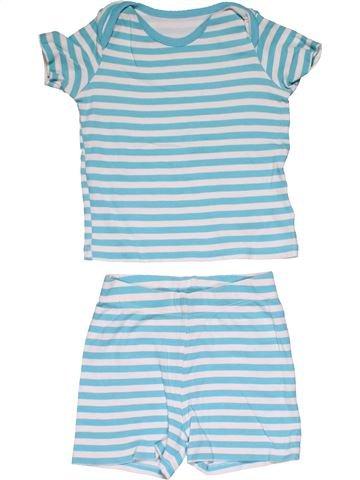 2 pieces Pyjama boy F&F gray 18 months summer #29436_1