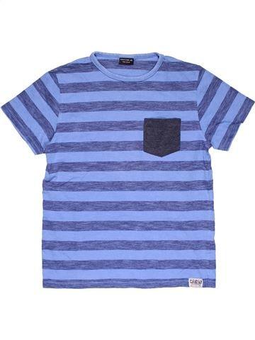 Short sleeve T-shirt boy NEXT blue 12 years summer #29571_1