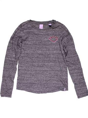 Long sleeve T-shirt girl SCOTCH & SODA purple 10 years winter #29588_1