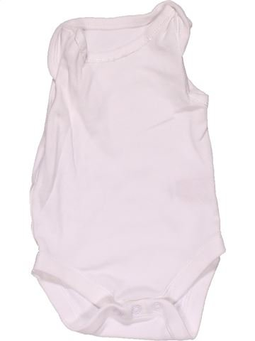 Short jumpsuit unisex MOTHERCARE white 1 month summer #29591_1