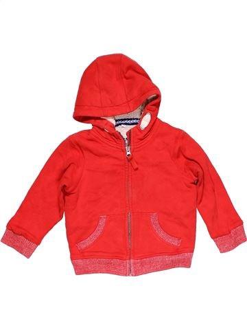 Sweatshirt boy MARKS & SPENCER red 3 years winter #29602_1
