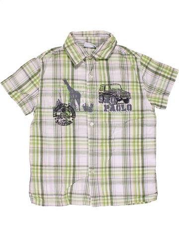 Short sleeve shirt boy DOPODOPO white 7 years summer #29633_1