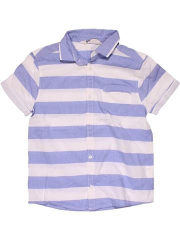 Short sleeve shirt boy H&M purple 7 years summer #29636_1