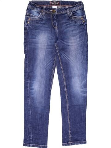 Jeans girl HERE & THERE blue 10 years winter #29675_1