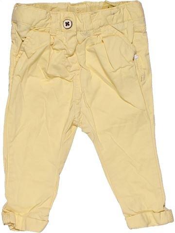 Trouser girl TAPE À L'OEIL beige 9 months summer #29807_1