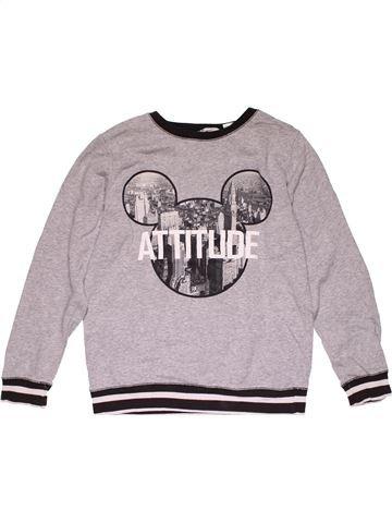 Sweatshirt boy H&M gray 12 years winter #29846_1