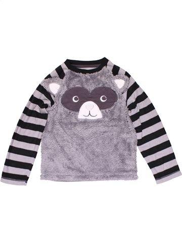 Sweatshirt boy GEORGE purple 7 years winter #29888_1