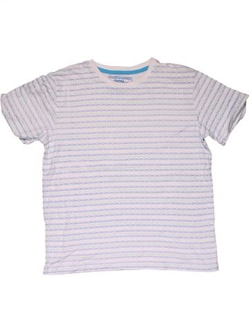 Short sleeve T-shirt boy MATALAN gray 11 years summer #29911_1