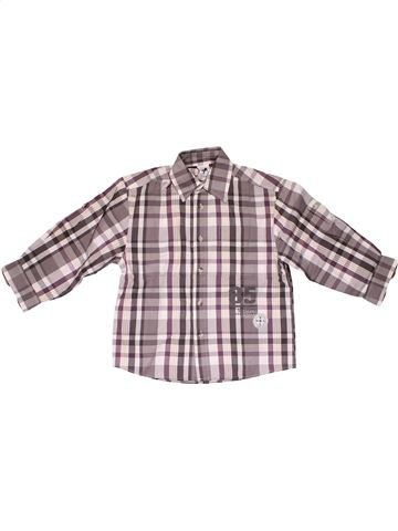 Long sleeve shirt boy PALOMINO purple 6 years winter #30028_1