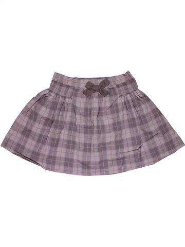 Skirt girl VERTBAUDET gray 10 years summer #30059_1