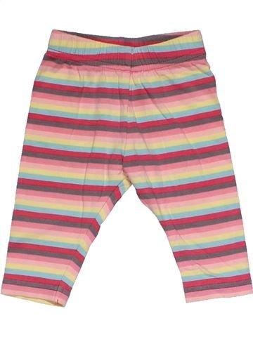 Leggings girl GEORGE pink 3 months summer #30269_1