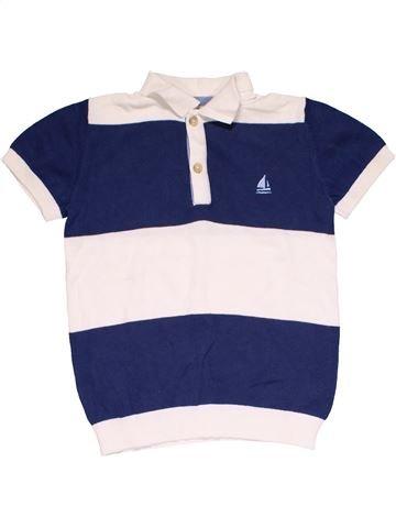 Short sleeve polo shirt boy NEXT blue 5 years summer #30277_1