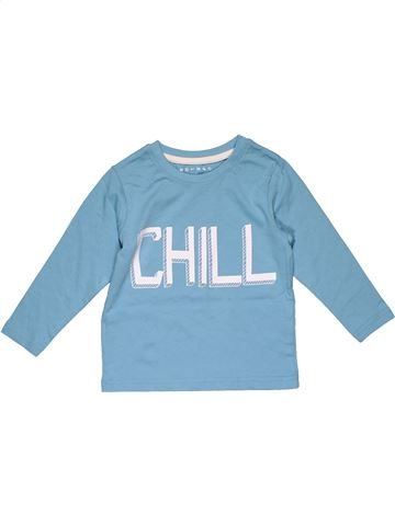 Long sleeve T-shirt boy NUTMEG blue 2 years summer #30288_1