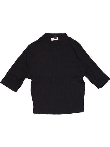 Short sleeve blouse girl NEW LOOK black 13 years summer #30327_1