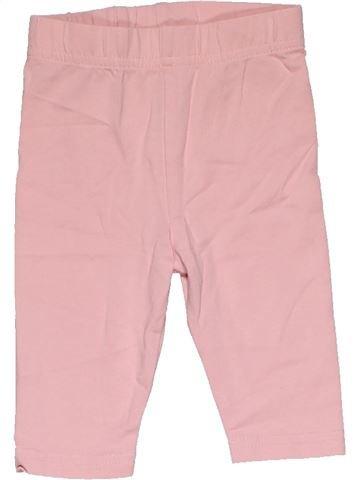 Leggings girl GEORGE pink 3 months summer #30375_1