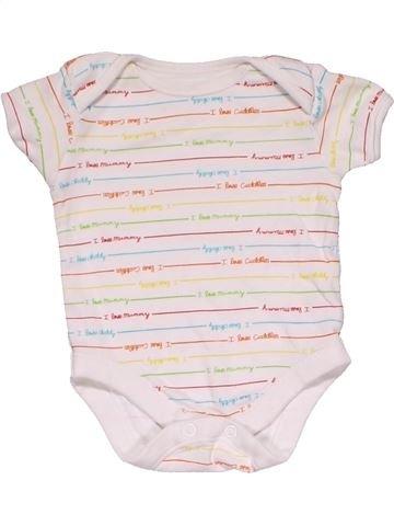 Short jumpsuit unisex GEORGE white 3 months summer #30405_1