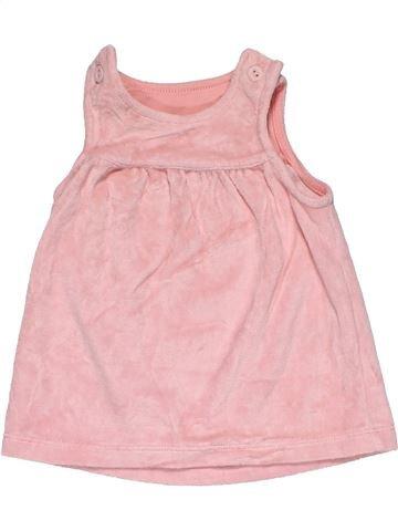 Dress girl MARKS & SPENCER pink 1 month summer #30449_1