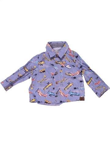 Long sleeve shirt boy MONSOON purple 12 months winter #3051_1