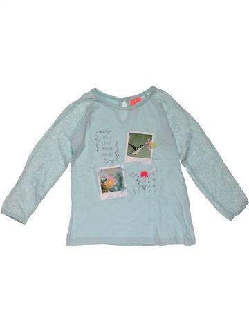 Long sleeve T-shirt girl NO BRAND blue 7 years summer #31076_1
