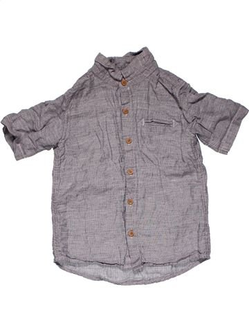 Short sleeve shirt boy NEXT gray 4 years summer #31085_1
