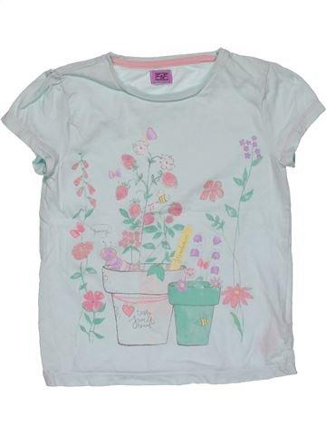 Short sleeve T-shirt girl F&F gray 6 years summer #31095_1