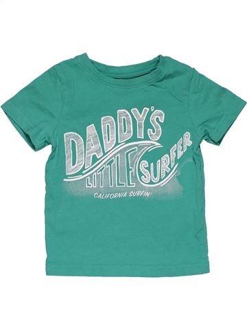Short sleeve T-shirt boy NUTMEG blue 2 years summer #31115_1