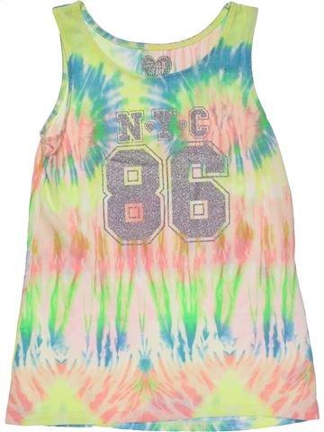 Sleeveless T-shirt girl F&F green 11 years summer #31133_1