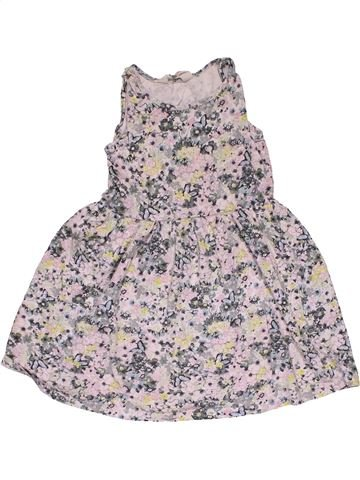 Dress girl H&M gray 6 years summer #31167_1