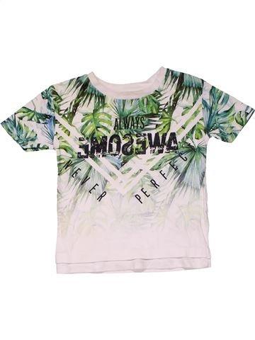 Short sleeve T-shirt boy RIVER ISLAND white 18 months summer #31190_1