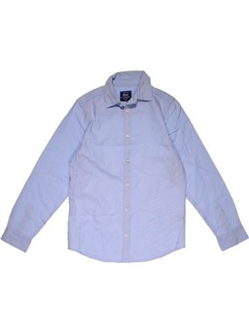 Long sleeve shirt boy REBEL gray 11 years winter #31210_1