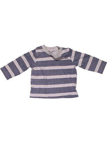 Long sleeve T-shirt boy F&F purple 3 months winter #31215_1