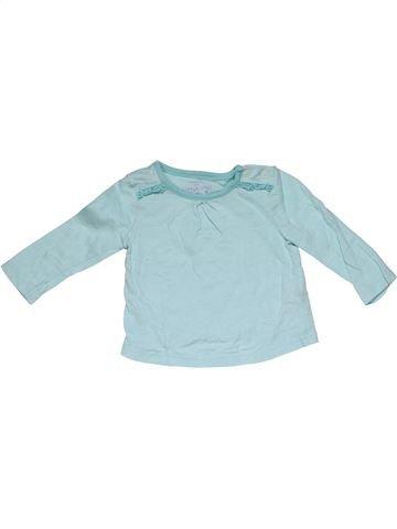 Long sleeve T-shirt girl F&F gray 3 months summer #31250_1