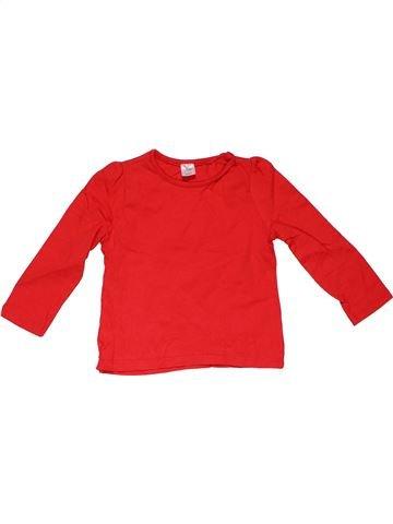 Long sleeve T-shirt girl MINI CLUB red 2 years winter #31262_1