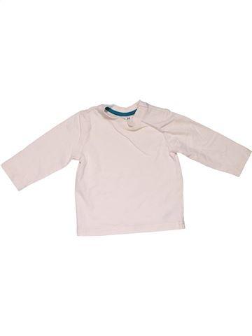 Long sleeve T-shirt unisex NUTMEG white 6 months winter #31286_1