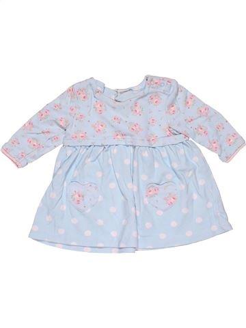 Dress girl MINI CLUB gray 6 months summer #31322_1