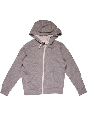 Sweatshirt boy GEORGE gray 10 years winter #31396_1