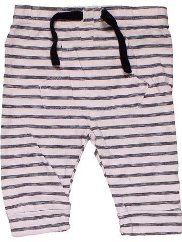 Trouser boy F&F white 3 months summer #31572_1