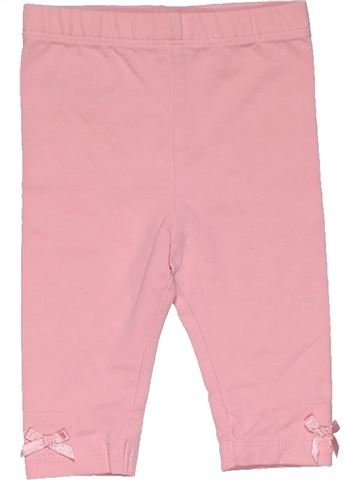 Trouser girl GEORGE pink 3 months summer #31633_1