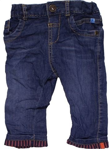 Trouser boy MARKS & SPENCER blue 6 months winter #31636_1