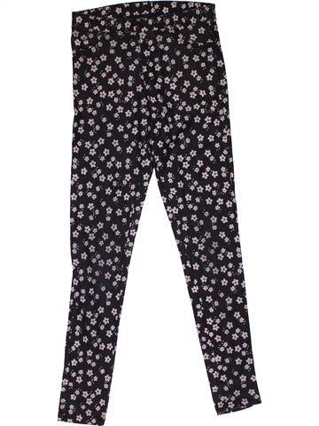 Trouser girl H&M dark blue 12 years summer #31671_1