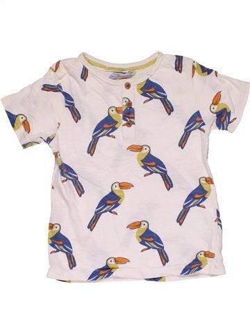 Short sleeve T-shirt girl JOHN LEWIS white 3 years summer #31686_1