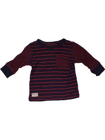 Long sleeve T-shirt boy NEXT brown 6 months summer #31722_1