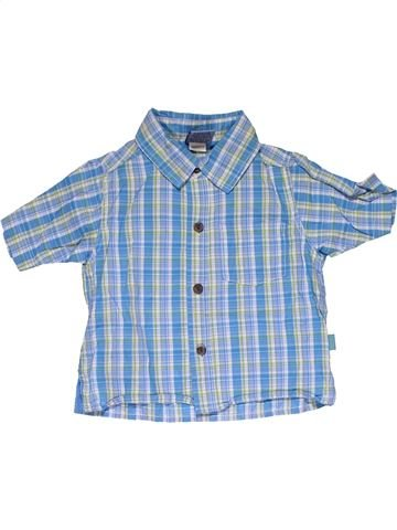 Short sleeve shirt boy PUMPKIN PATCH blue 9 months summer #31736_1