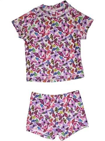 2 pieces Pyjama girl NEXT purple 6 months summer #31750_1