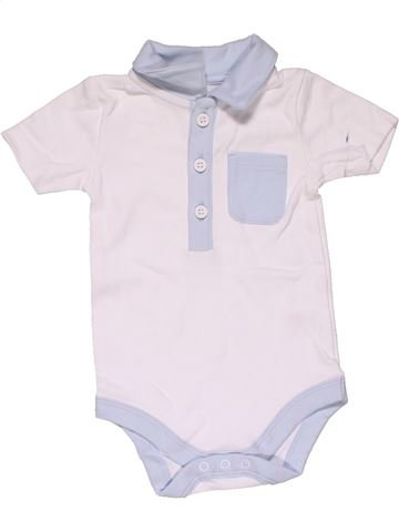 Short jumpsuit boy TU white 6 months summer #31762_1