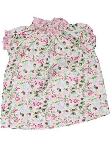 Short sleeve T-shirt girl BABY CLUB white 2 years summer #31786_1