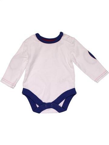 Long jumpsuit unisex GEORGE white 3 months summer #32032_1