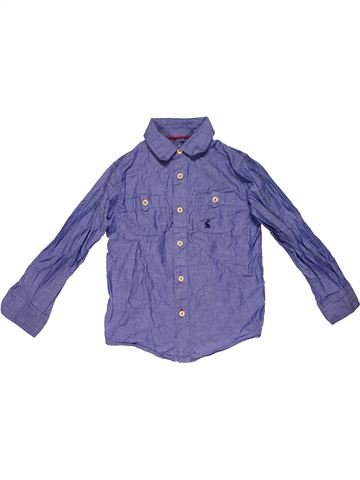 Long sleeve shirt boy JONLES purple 4 years winter #32091_1