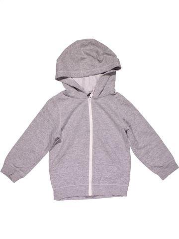 Sweatshirt boy GEORGE gray 5 years winter #32100_1