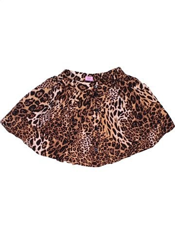 Skirt girl F&F brown 9 years summer #32250_1